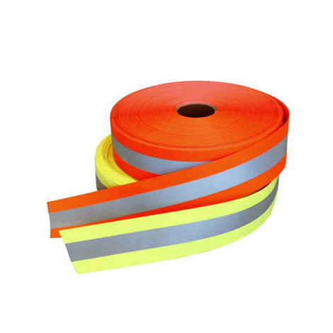 CE Approved Fluorescent Reflective Ribbon Tape